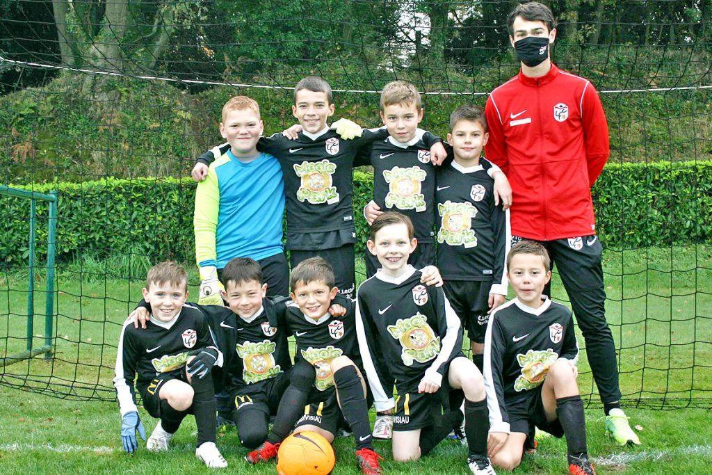 équipe U11 Manchester Landi FC