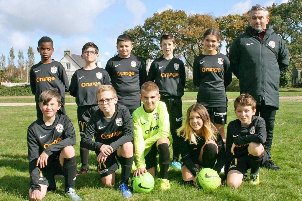 équipe U13 Valence Landi FC