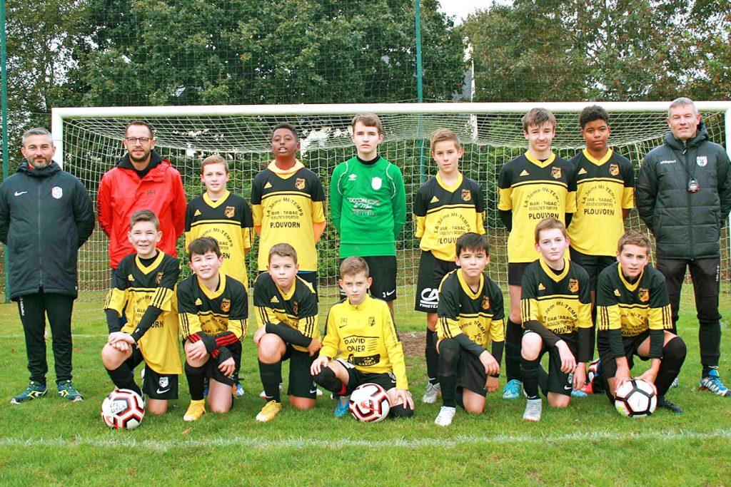 équipe U14B Landi FC