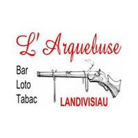logo Arquebuse bar partenaire du Landi FC