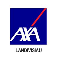logo Axa Landivisiau partenaire du Landi FC