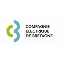 logo Compagnie électrique de Bretagne partenaire du Landi FC
