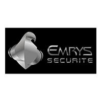 logo Emrys Sécurité partenaire majeur du Landi fc