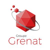 logo Groupe Grenat partenaire du Landi FC